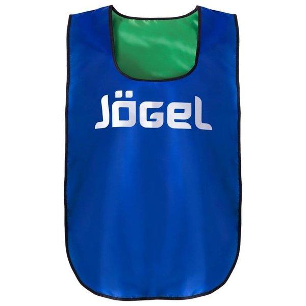 Манишка двухсторонняя Jogel JBIB-2001 взрослая, синий/зеленый