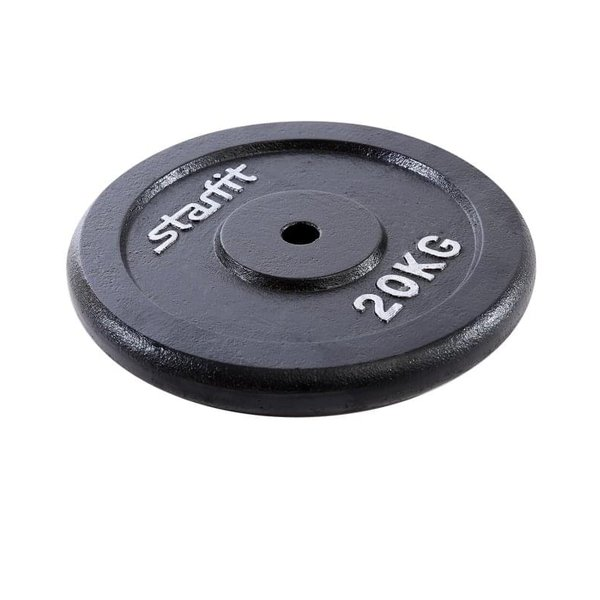 Диск чугунный StarFit BB-204 d-26 мм 20 кг