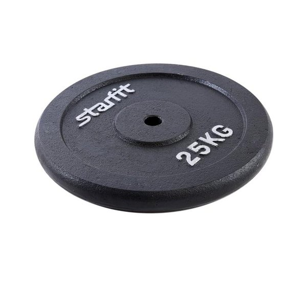 Диск чугунный StarFit BB-204 d-26 мм 25 кг
